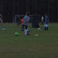 Photo taken at Camden County PSA Soccer Fields by Gilford D. on 3/5/2013