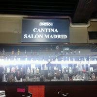 Photo taken at Cantina Salón Madrid by Edersiñi T. on 8/23/2014