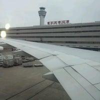 Photo taken at Tokyo (Haneda) International Airport (HND) by Rena on 7/25/2013