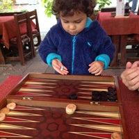 Photo taken at Sedir Cafe by Simge K. on 11/14/2013