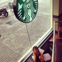 Photo taken at Starbucks Coffee by Anastasiya_23 on 7/18/2013