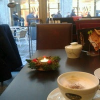 Photo taken at Wiener Caféhaus by Issam A. on 12/28/2013