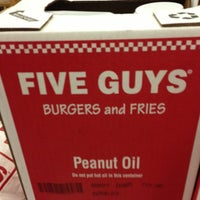 Photo taken at Five Guys by Chelsea K. on 3/2/2013