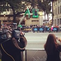 Photo taken at Rock n Roll Savannah Marathon Start by Chris L. on 11/9/2013