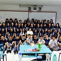 Photo taken at SMA Sutomo 1 Medan by Fricilia F. on 4/10/2014