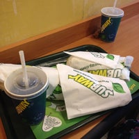 Photo taken at Subway by Mike J. on 8/24/2014