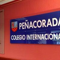 Photo taken at Colegio Internacional Peñacorada by Oscar R. on 3/29/2014
