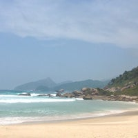 Photo taken at Lopes Mendes by Arikas O. on 11/28/2016