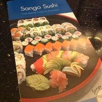 Photo taken at Sango Sushi by Liezl Y. on 2/3/2013
