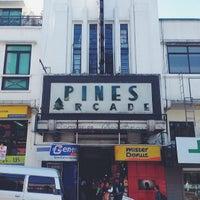 Photo taken at Pines Arcade by Toni B. on 2/21/2014