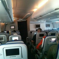 Photo taken at Lufthansa Flight LH 440 by Andreas S. on 11/11/2014