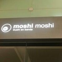 Photo taken at Moshi Moshi by David L. on 2/10/2013