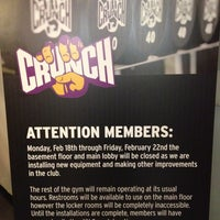 Photo taken at Crunch by Nate F. on 2/11/2013