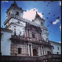 Photo taken at Iglesia de San francisco by Javikoo on 11/29/2013