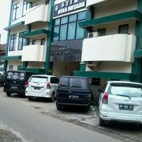 Photo taken at STIK Bina Husada Palembang by Andyka D. on 2/18/2013