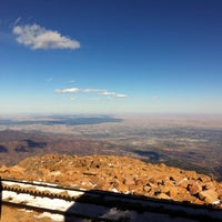 Photo taken at Pikes Peak by Claudia H. on 10/27/2013