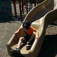 Photo taken at Bennett Park by Heidi B. on 5/25/2014