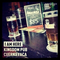 Photo taken at Kingdom Pub by Alonso M. R. on 3/3/2013