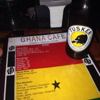 Photo taken at Ghana Cafe by Michael B. on 2/15/2014