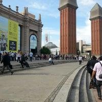 Photo taken at Fira de Barcelona by Mireia L. on 6/5/2013