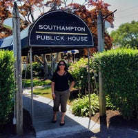 Photo taken at Southampton Publick House by Francisco S. on 7/30/2013
