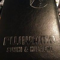 Photo taken at Fujiyama Sushi and Hibachi Grill by Jamie S. on 4/11/2013