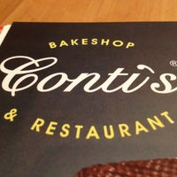 Photo taken at Conti's Bakeshop & Restaurant by Jason G. on 4/7/2013
