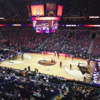 Photo taken at Smoothie King Center by R.J. A. on 4/7/2013