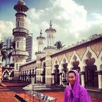 Photo taken at Masjid Jamek Kuala Lumpur by Salisa N. on 2/10/2013