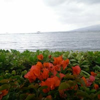 Photo taken at Lahaina Shores Beach Resort by Uday M. on 1/1/2015