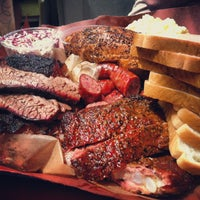 Photo taken at Franklin Barbecue by Mark B. on 6/14/2013