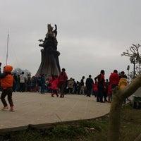 Photo taken at Đền Sóc by Huy Hiệu N. on 2/16/2013