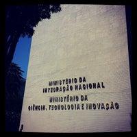 Photo taken at Ministério da Ciência, Tecnologia e Inovação by Dami on 3/7/2013