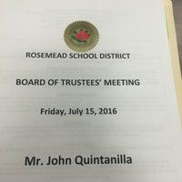 Photo taken at Rosemead School District by John Q. on 7/16/2016