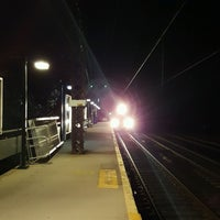 Photo taken at Metro North - East Norwalk Train Station by Laura P. on 10/10/2016
