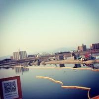 Photo taken at 小戸之橋 by Junchan on 2/12/2015