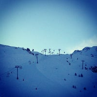 Photo taken at Tignes by Tonny P. on 12/24/2012