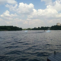 Photo taken at Траектория Wake Park by Yana Z. on 6/9/2013