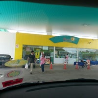 Photo taken at Petronas Lebuhraya Serdang Puchong by Shirley T. on 11/26/2012