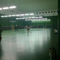 Photo taken at BJGCR Badminton Court by Terry A. on 4/14/2013