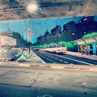 Photo taken at Viaduto Okuhara Koei by Daniel B. on 2/19/2014
