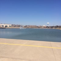 Photo taken at Carrollton Public Library - Josey Ranch Lake by Kian H. on 3/10/2014