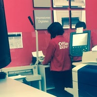 Photo taken at Office Depot by 'Alexandro P. on 10/21/2016