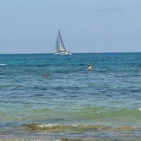 Photo taken at Playa El Salaret / Los Locos by Ania W. on 7/4/2013