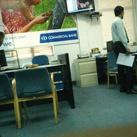 Photo taken at Commercial Bank by Asmath H. on 2/24/2014