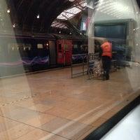 Photo taken at Platform 2 by Aaron S. on 1/16/2014