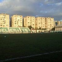 Photo taken at Bornova Stadı by Mesut M. on 4/9/2013
