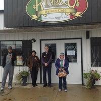 Photo taken at Kinsey's Italian Café by Kinsey S. on 11/3/2012