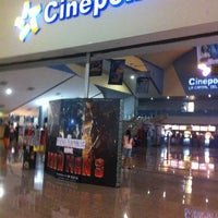 Photo taken at Cinépolis by Erick A. on 4/24/2013