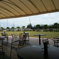 Photo taken at Marina Island Jetty Complex by Kenneth A. on 2/18/2013